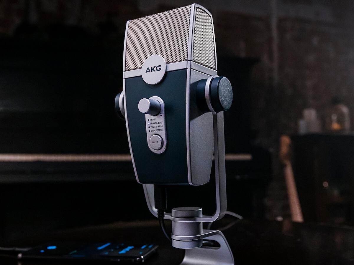 AKG Lyra ultra HD multimode USB microphone creates incredible audio quality