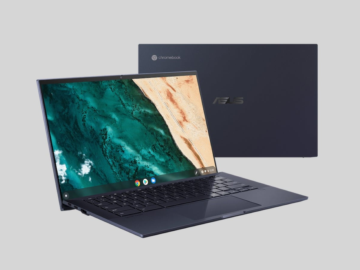 ASUS Chromebook CX9 professional laptop offers a cloud-first OS & collaboration