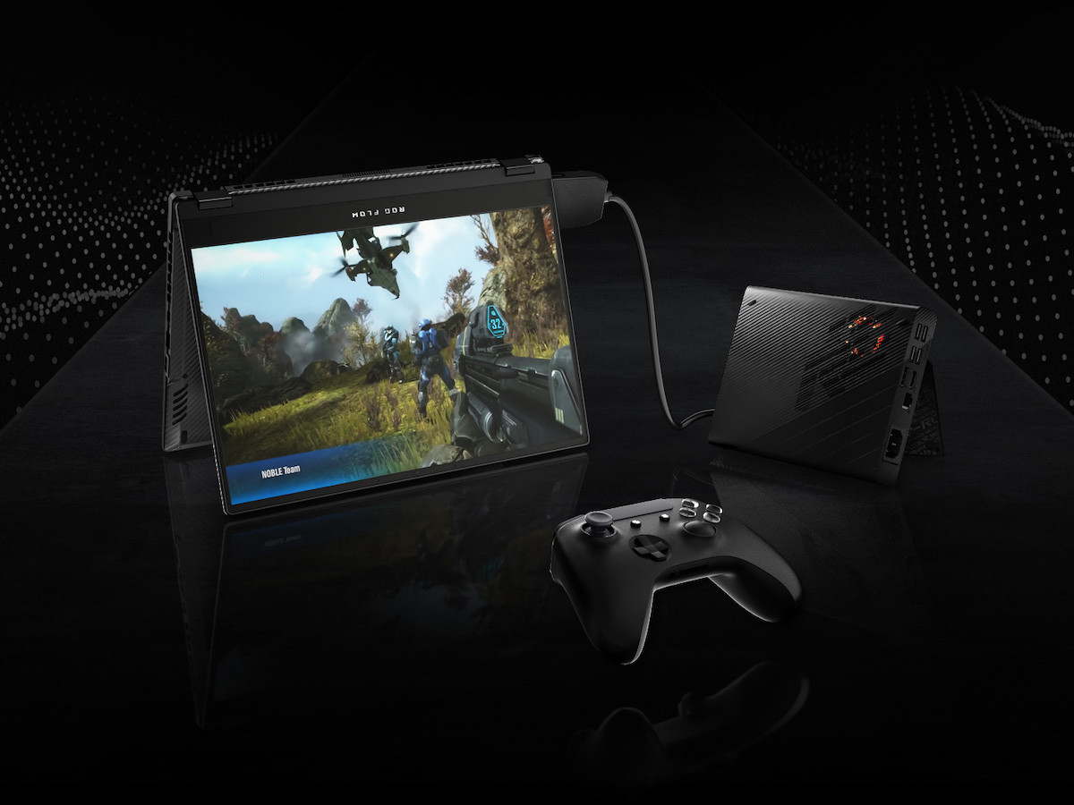 ASUS ROG Flow X13 ultraportable gaming laptop comes with an external GPU