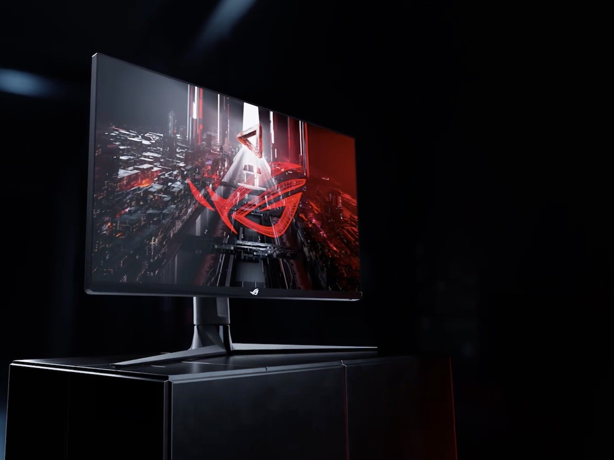 ASUS ROG Swift 32-inch 4K monitor is a gaming powerhouse with two HDMI 2.0 ports