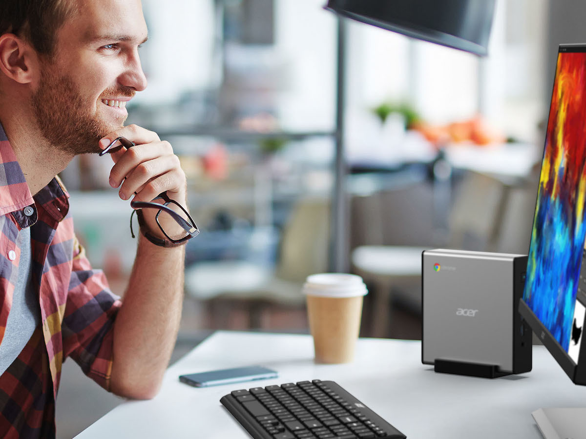 Acer Chromebox CXI4 mini PC provides integrated malware protection