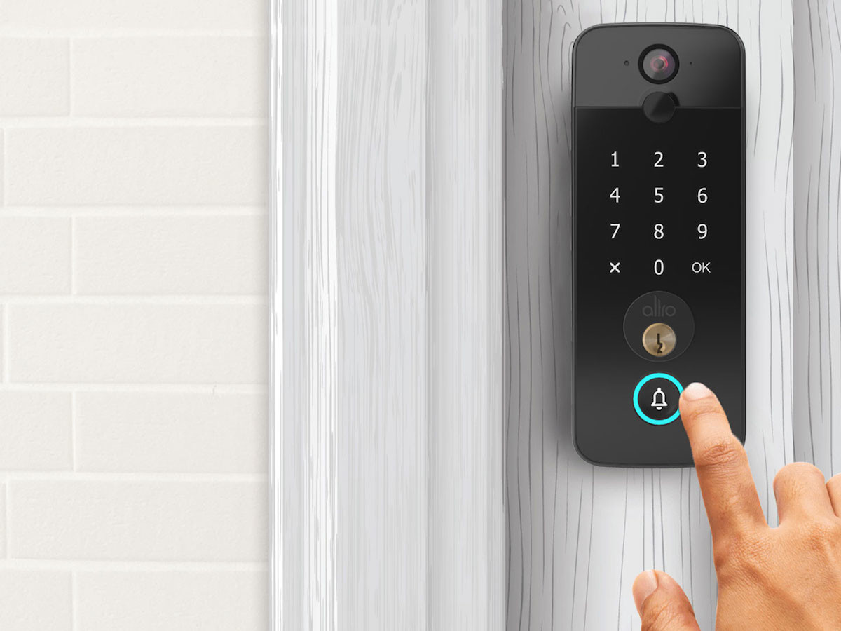 Altro Smart Model X smart lock provides keyless lock & unlock access
