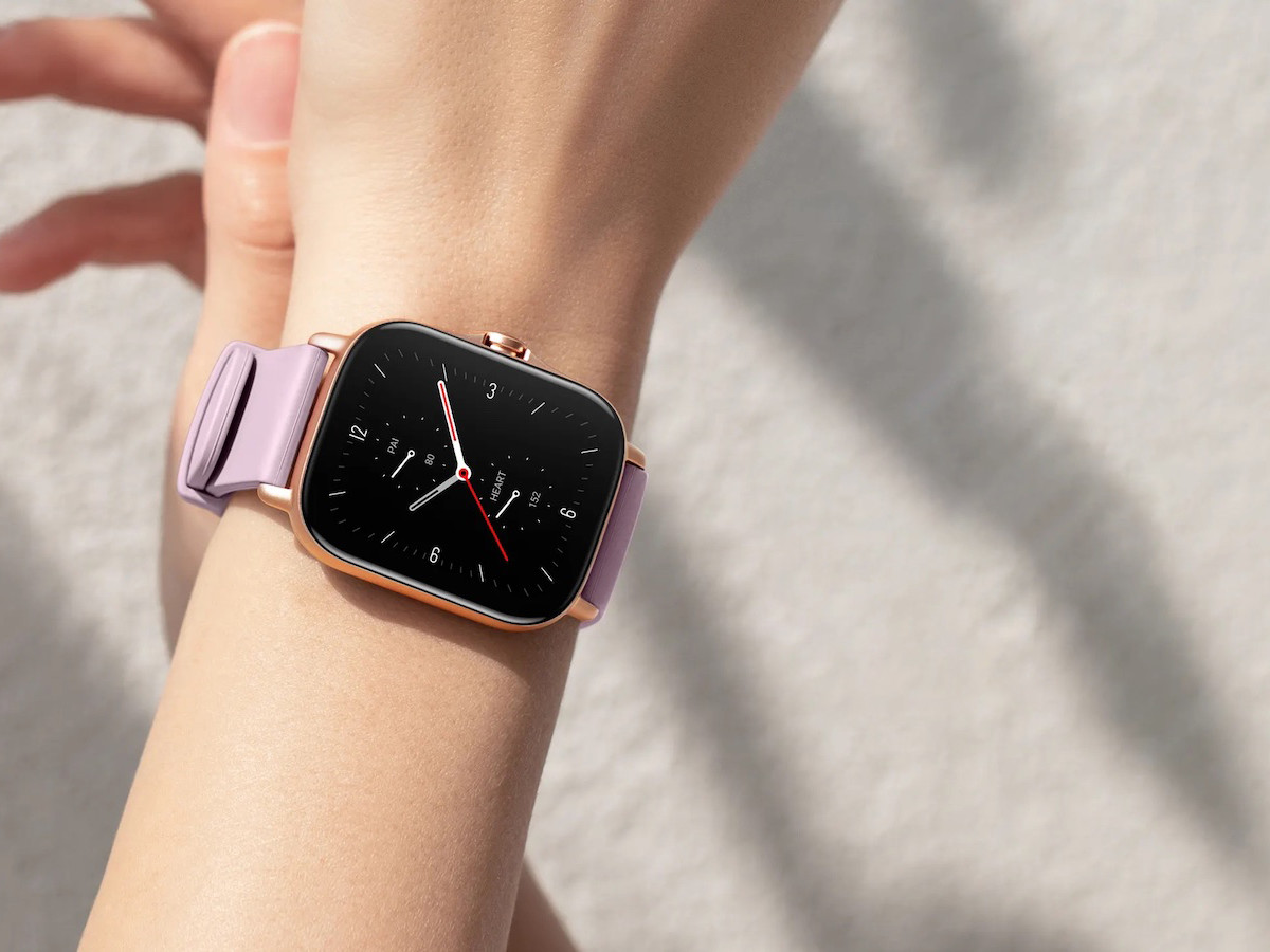 Amazfit GTS 2e smartwatch has a 24-day battery life