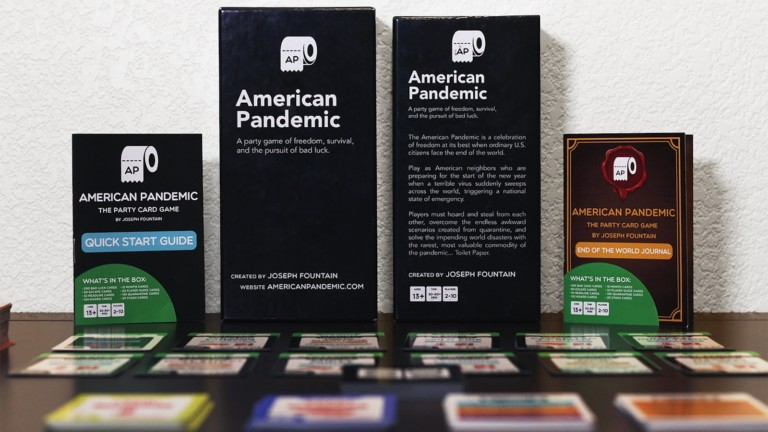 American Pandemic party card game has endless 2020 memes and keeps laughs constant