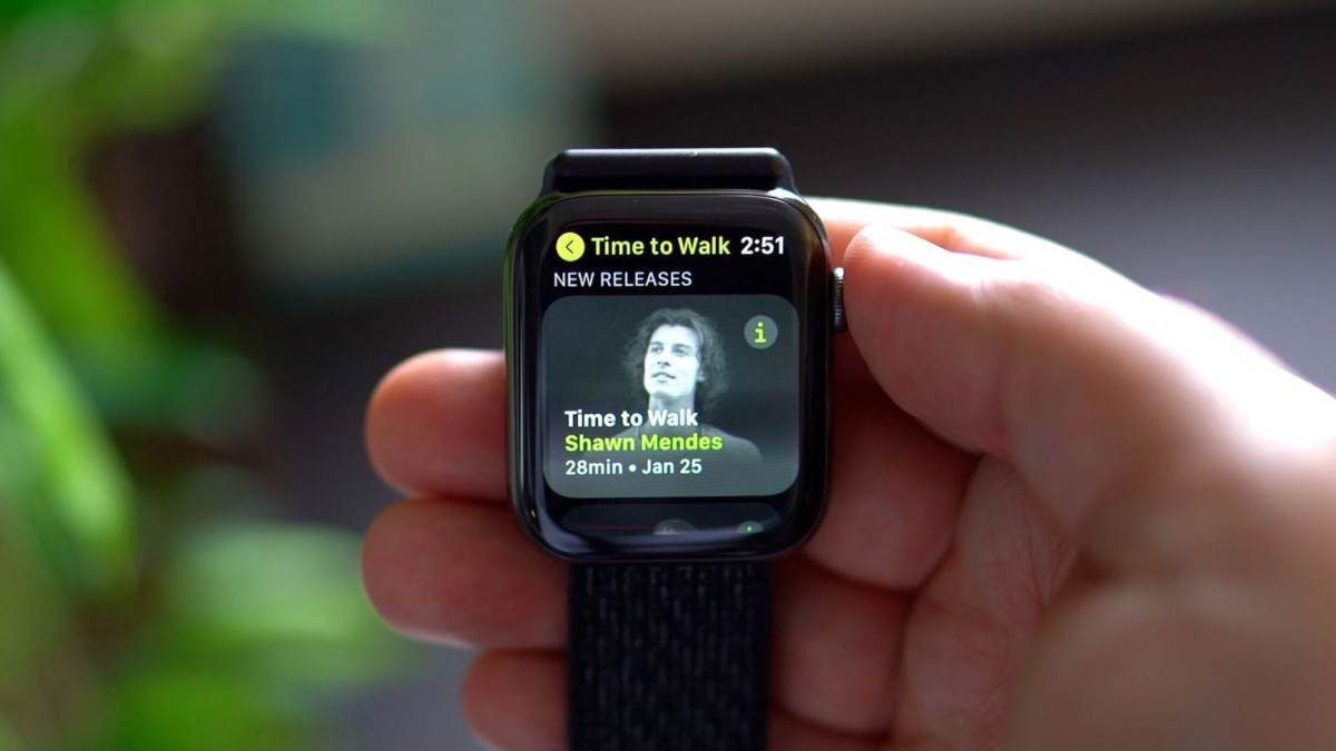 Walk with celebrities with Apple Fitness+ Time to Walk feature