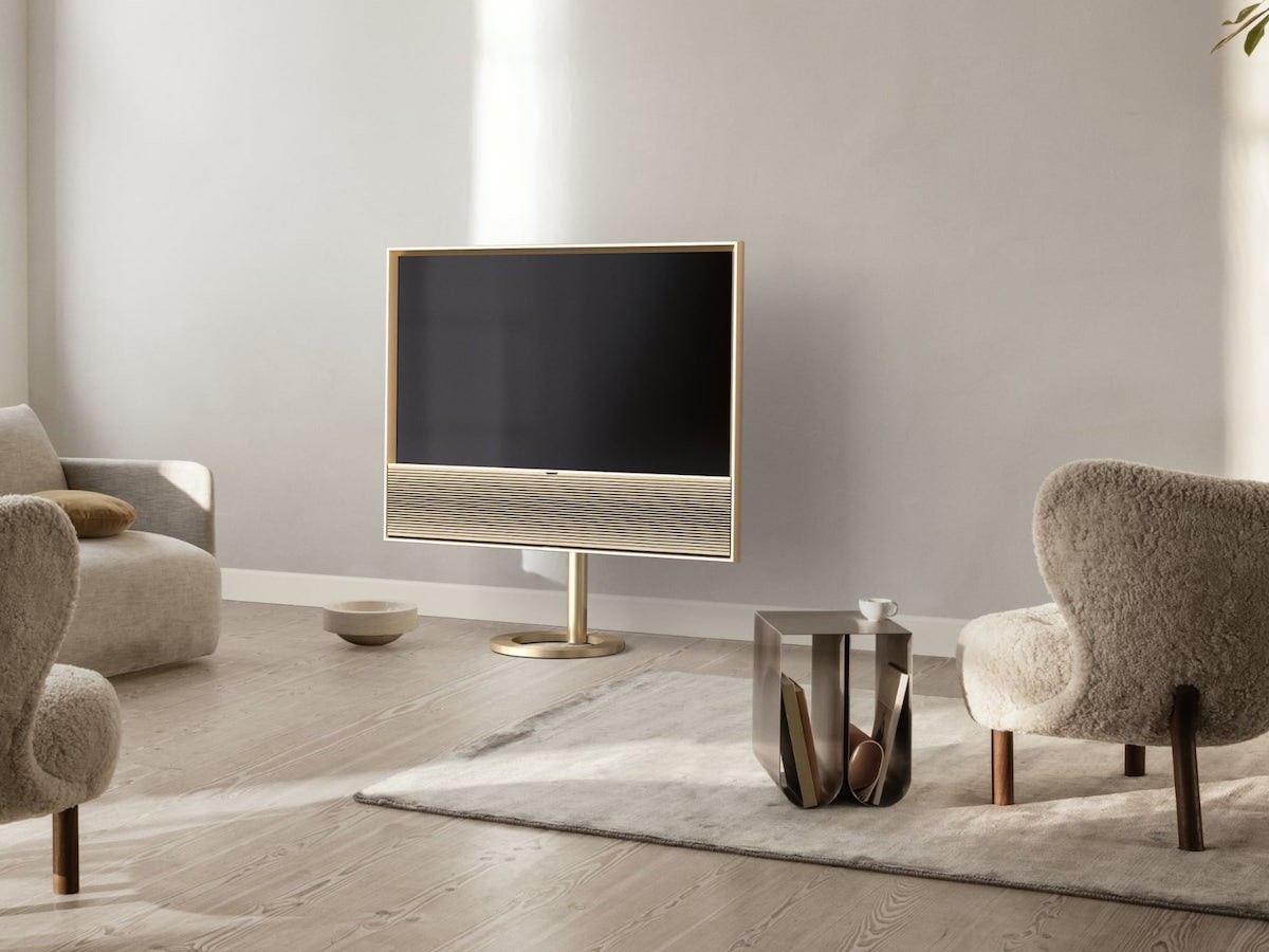 Bang & Olufsen Beovision Contour all-in-one OLED TV has 4 advanced sound features