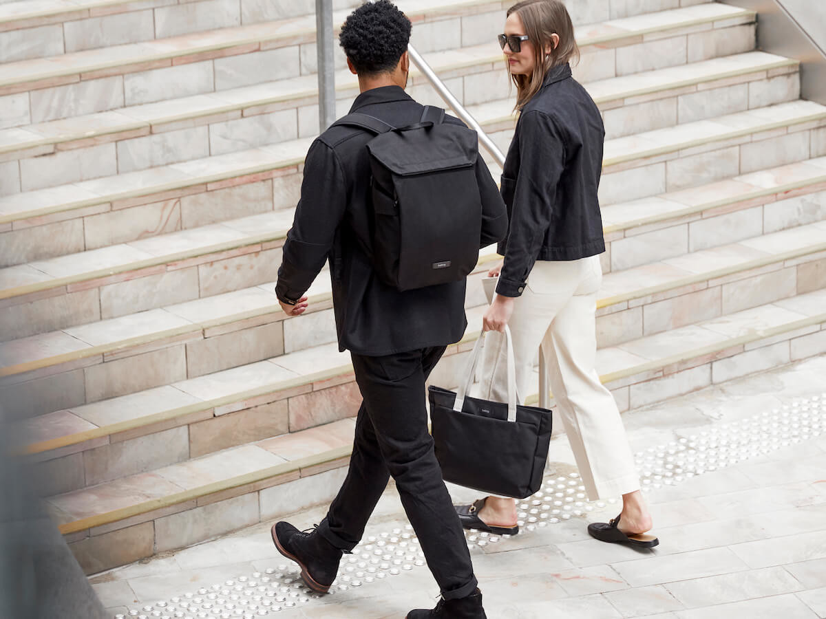 Bellroy Melbourne Sleek Urban Backpack has a minimalist appearance & design for comfort