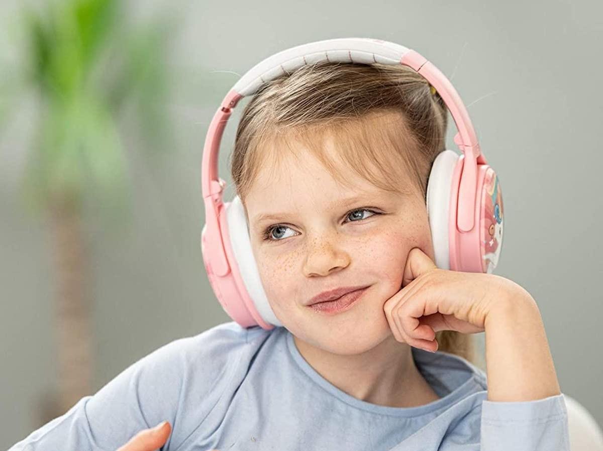 BuddyPhones Cosmos ANC kids' headphones offer volume limits and three listening settings