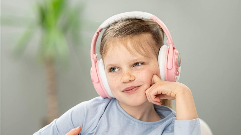 BuddyPhones Cosmos ANC kids' headphones offer volume limits and three listening settings