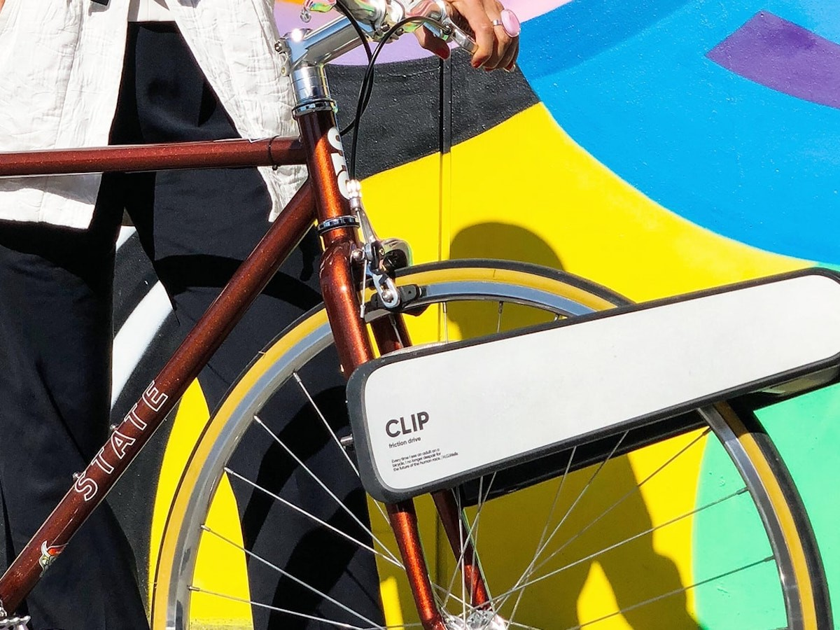 CLIP portable eBike upgrade turns any regular bike into an electric bicycle