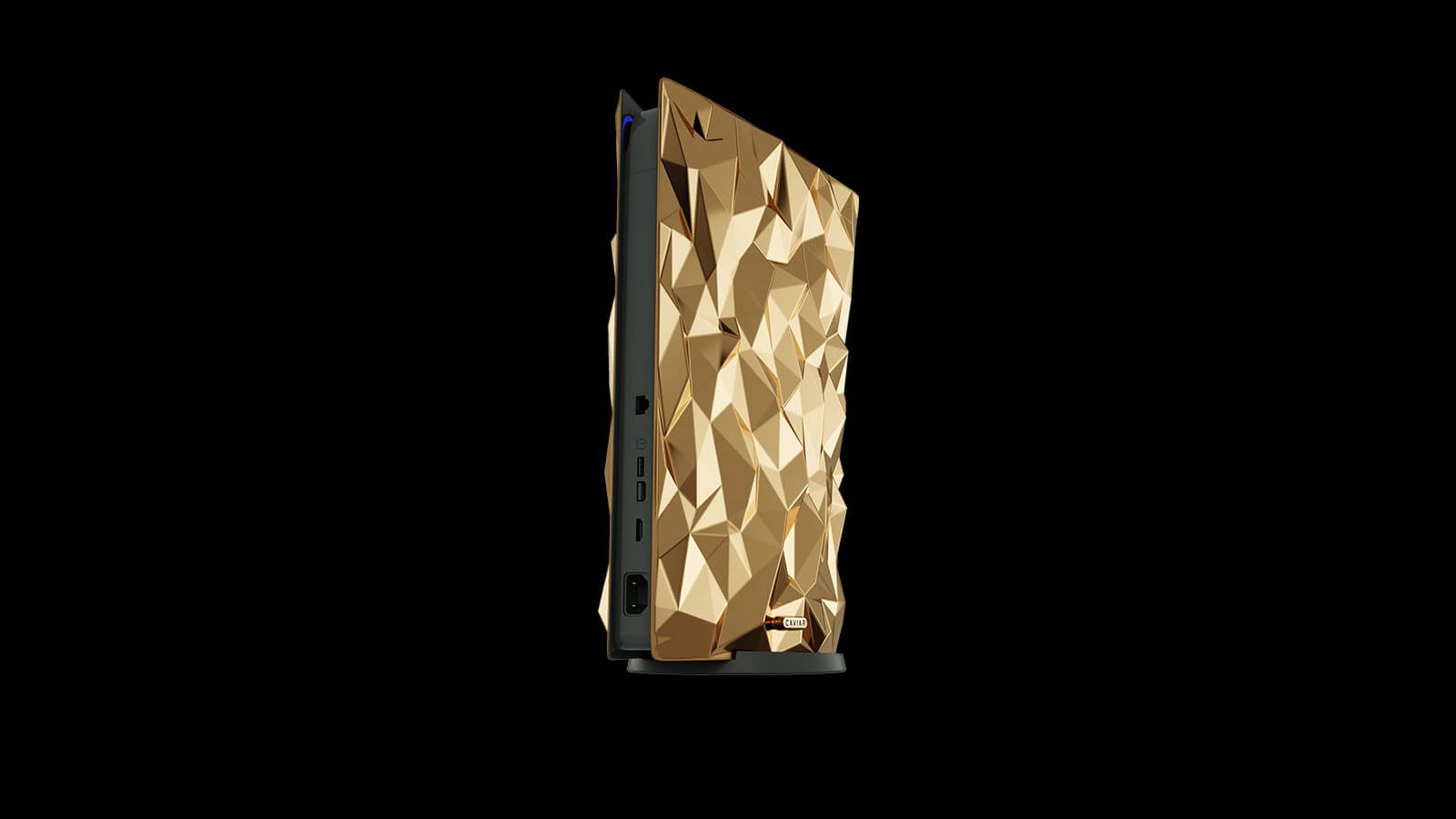 Caviar Golden Rock Sony PlayStation 5 features 20 kgs of gold