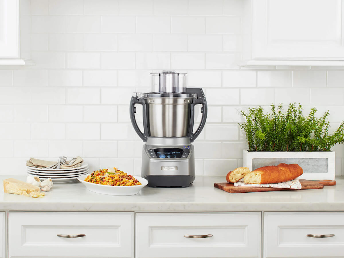 Cuisinart Complete Chef cooking food processor comes with 6 functions