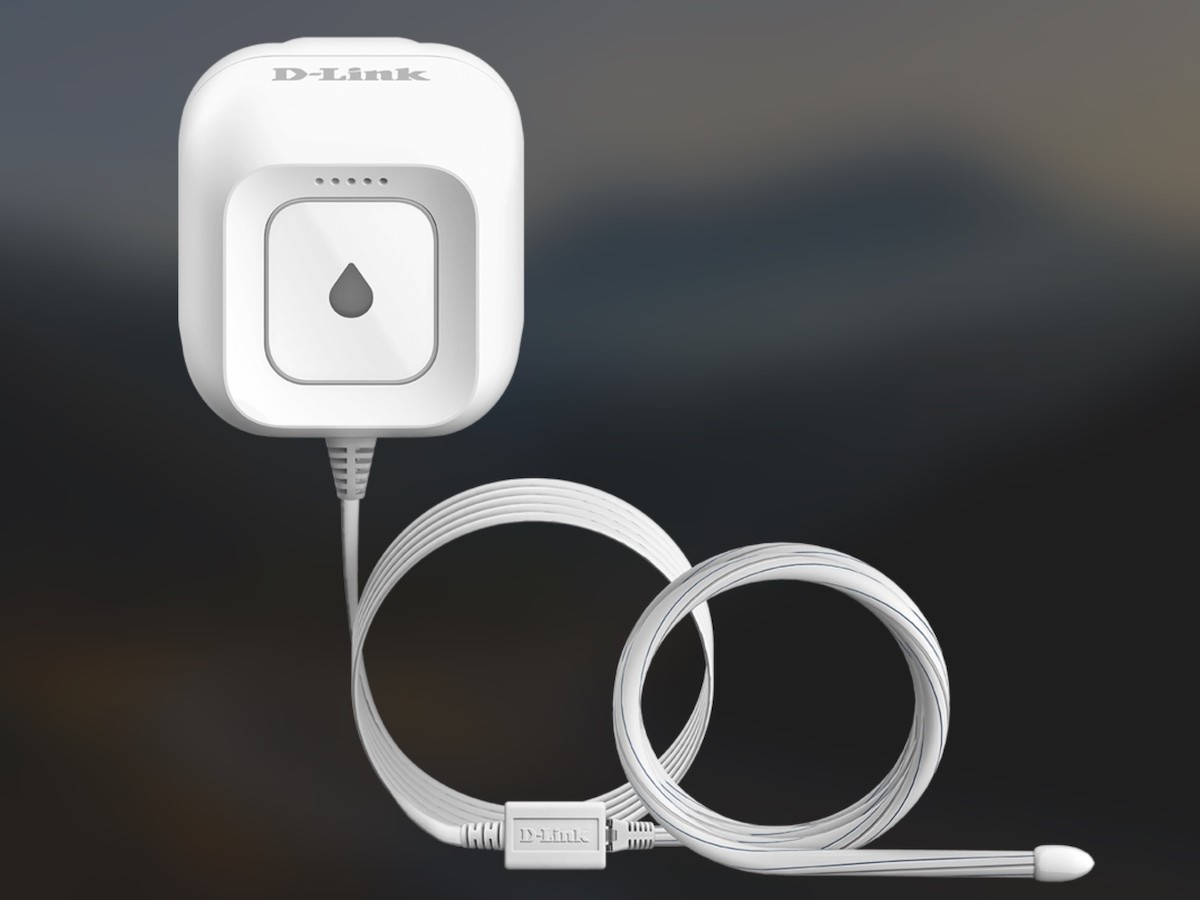 D-Link AC Powered Wi-Fi Water Sensor DCH-S162 doesn't require a hub