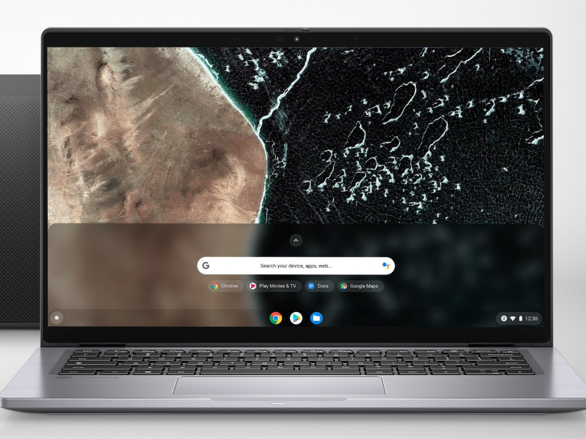 Dell Latitude 7410 Chromebook Enterprise 2-in-1 laptop charges up to 80% in one hour