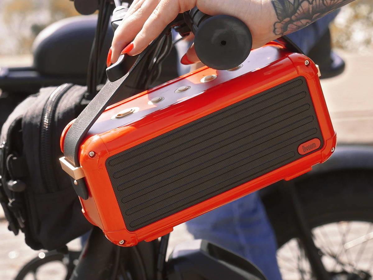 Divoom Mocha 40W portable Bluetooth speaker offers 360º surround sound in a retro design