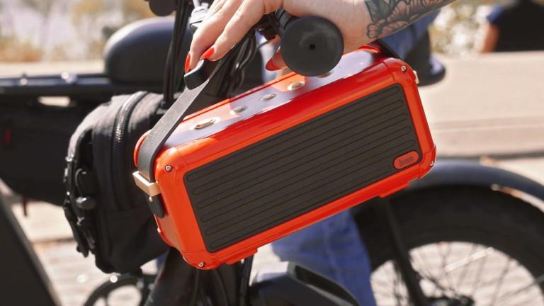 Divoom Mocha 40W portable speaker offers 360-degree surround sound in a retro design