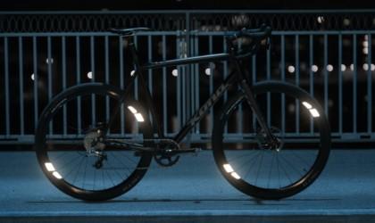 FLECTR 360 bike wheel reflector