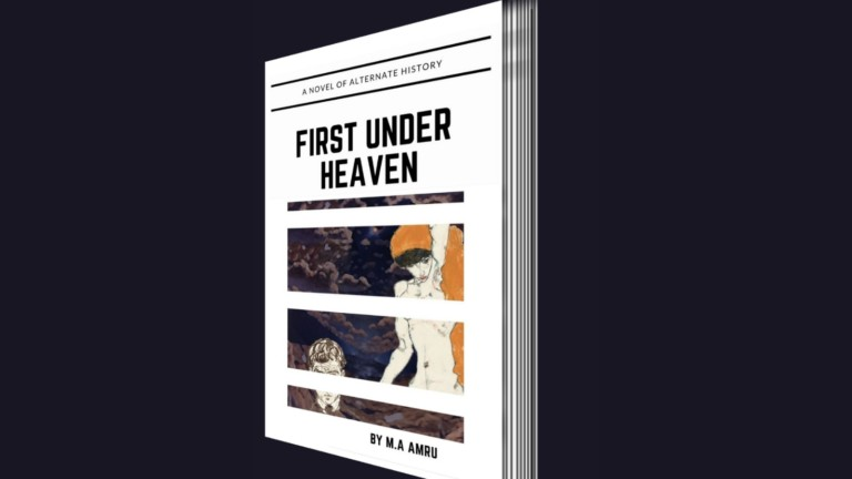 First Under Heaven alternate history novel focuses on action and philosophy