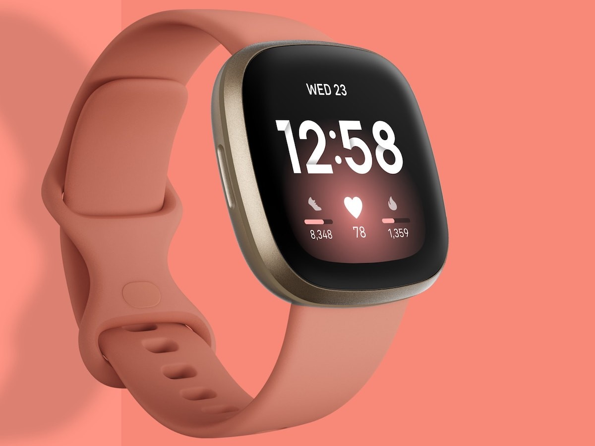 Fitbit Versa 3 smartwatch and GPS tracker is swimproof and lets you work out smarter