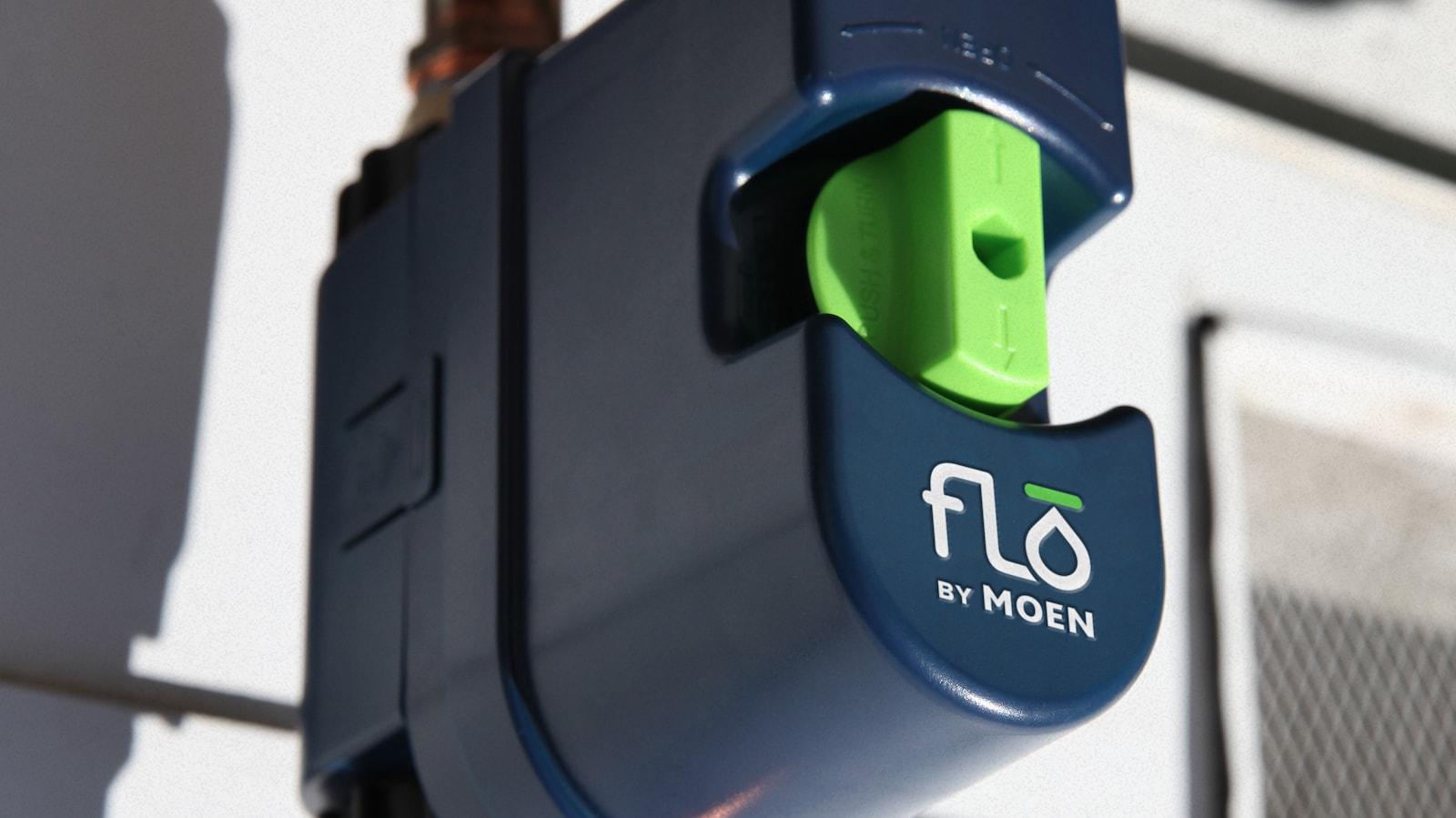 Flo By Moen Smart Water Shutoff protects your home from water damage and leaks