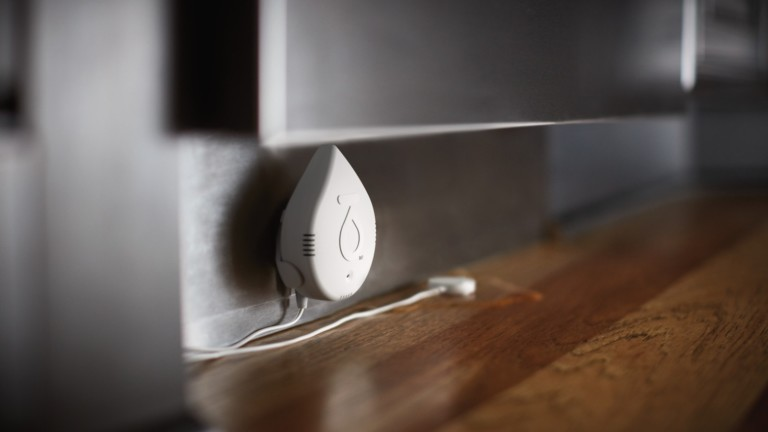 Flo by Moen Smart Water Detectors monitor for leaks within your home