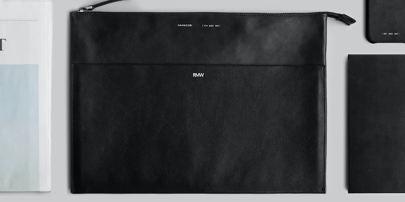 GRAMS28 118 Leather Folio MacBook Pro Luxurious Cover
