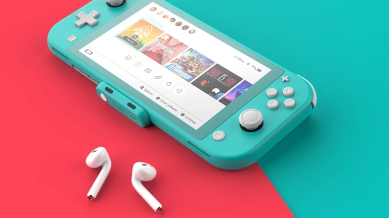 Genki Audio Lite slim Bluetooth adapter gives your Nintendo Switch wireless audio