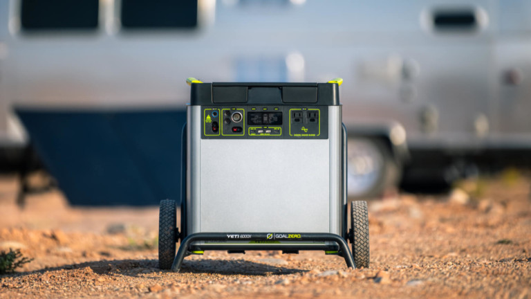 Goal Zero Yeti 6000X versatile power station can recharge a smartphone 451 times