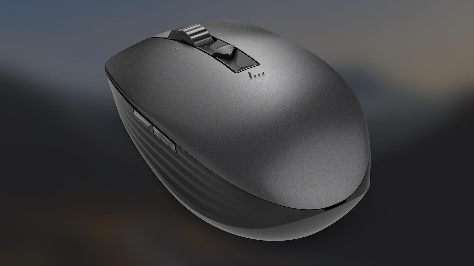 HP 635 Multi-Device Wireless Mouse connects with three different devices
