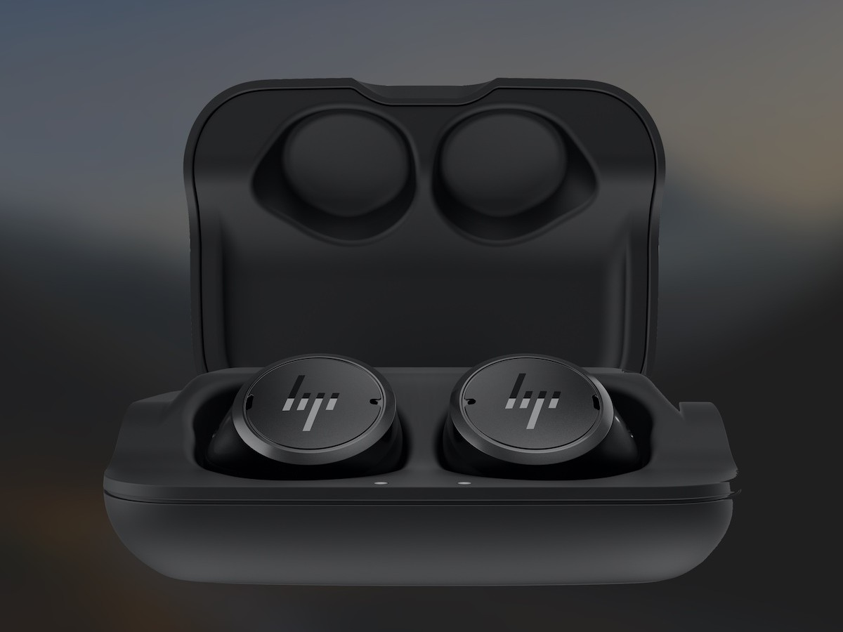 HP Elite Wireless Earbuds have personalized audio tuning