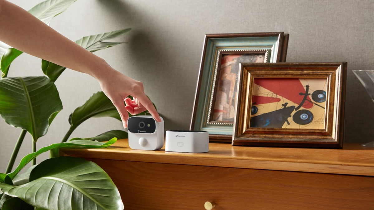 This practical 2K Ultra HD camera and home security hub protects your house affordably