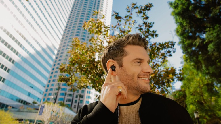 JBL Tour Pro+ in-ear headphones offer Adaptive Noise Canceling technology