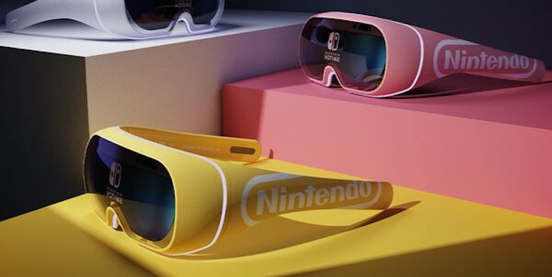 James Tsai Nintendo Switch Joy-Glasses VR Gaming Goggles