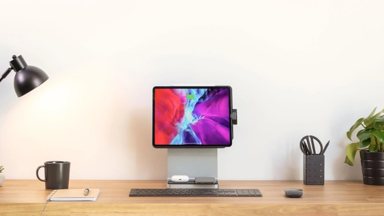 Kensington StudioDock iPad Pro dock uses magnets to create a powerful desktop experience