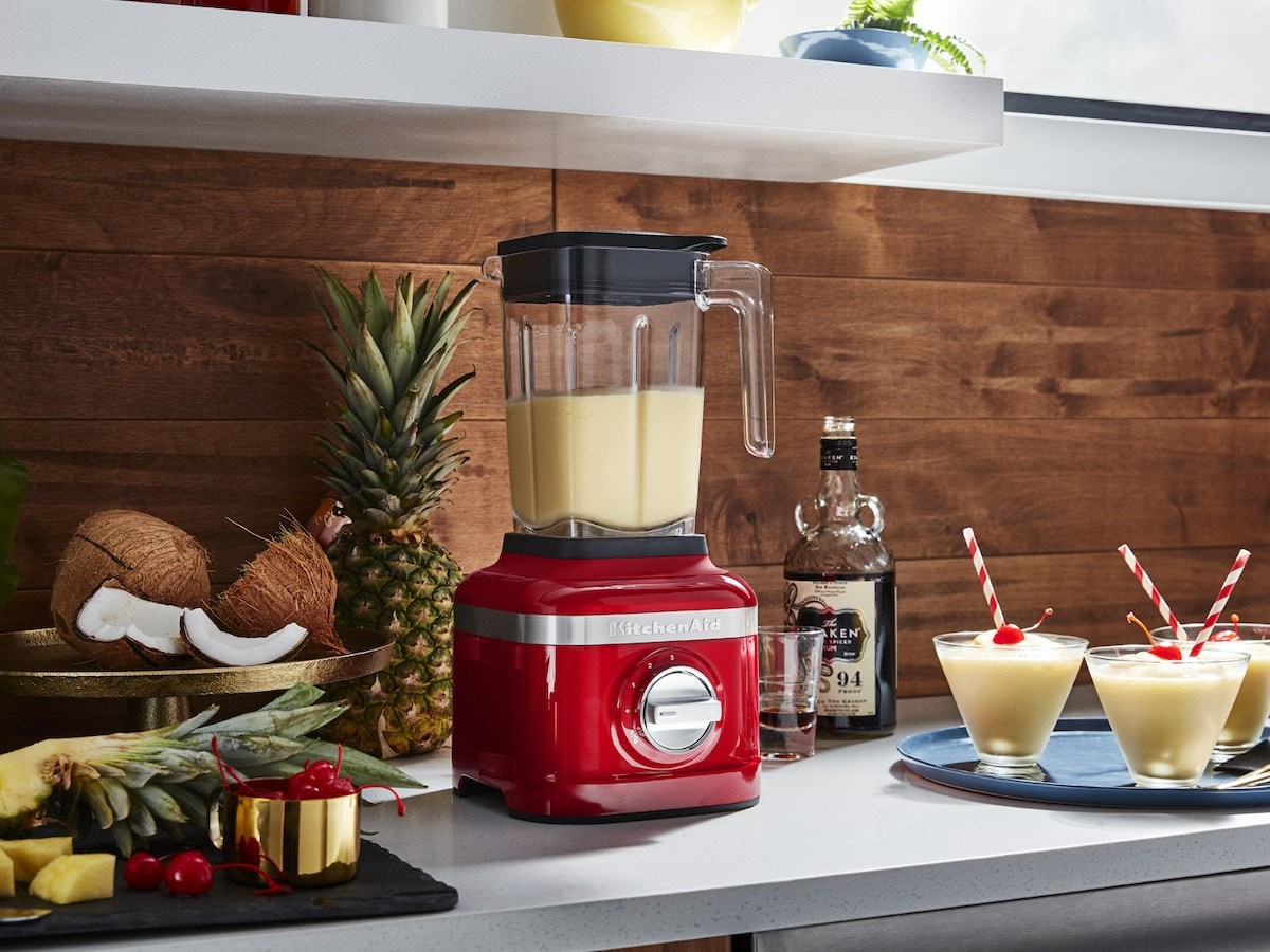KitchenAid K150 3-speed ice crushing blender blends up your ice in fewer than 10 seconds