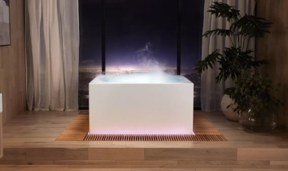 Kohler Stillness Bath smart bath tub