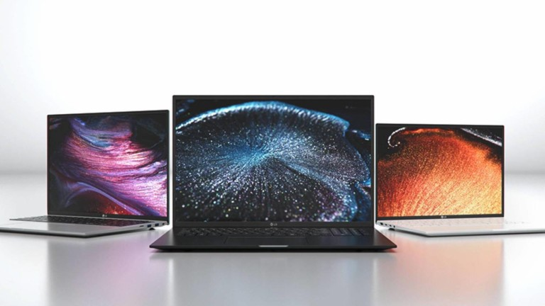LG 2021 gram laptops have an impressive 16:10 aspect ratio and a sleek design