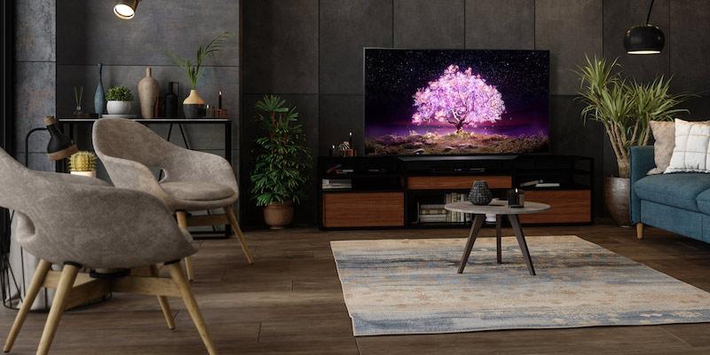 LG C1 83-inch Class 4K Smart OLED TV