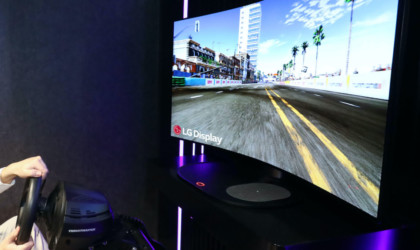 LG Display 48-Inch Bendable CSO gaming display