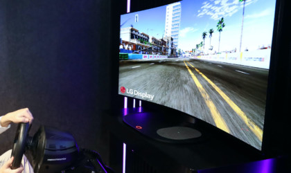 LG Display 48-Inch Bendable CSO gaming display