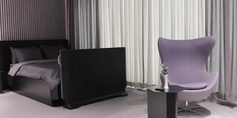 LG Transparent OLED TV