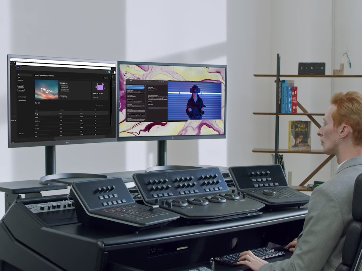 LG UltraFine OLED Pro 4K monitor has OLED screen tech similar to a TV