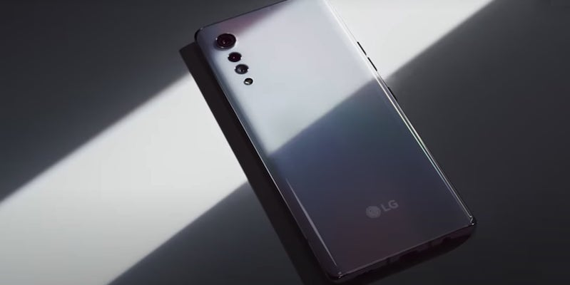 LG VELVET Elegant Smartphone