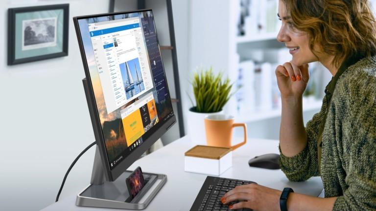 Lenovo L24i-30 monitor delivers borderless FHD resolution