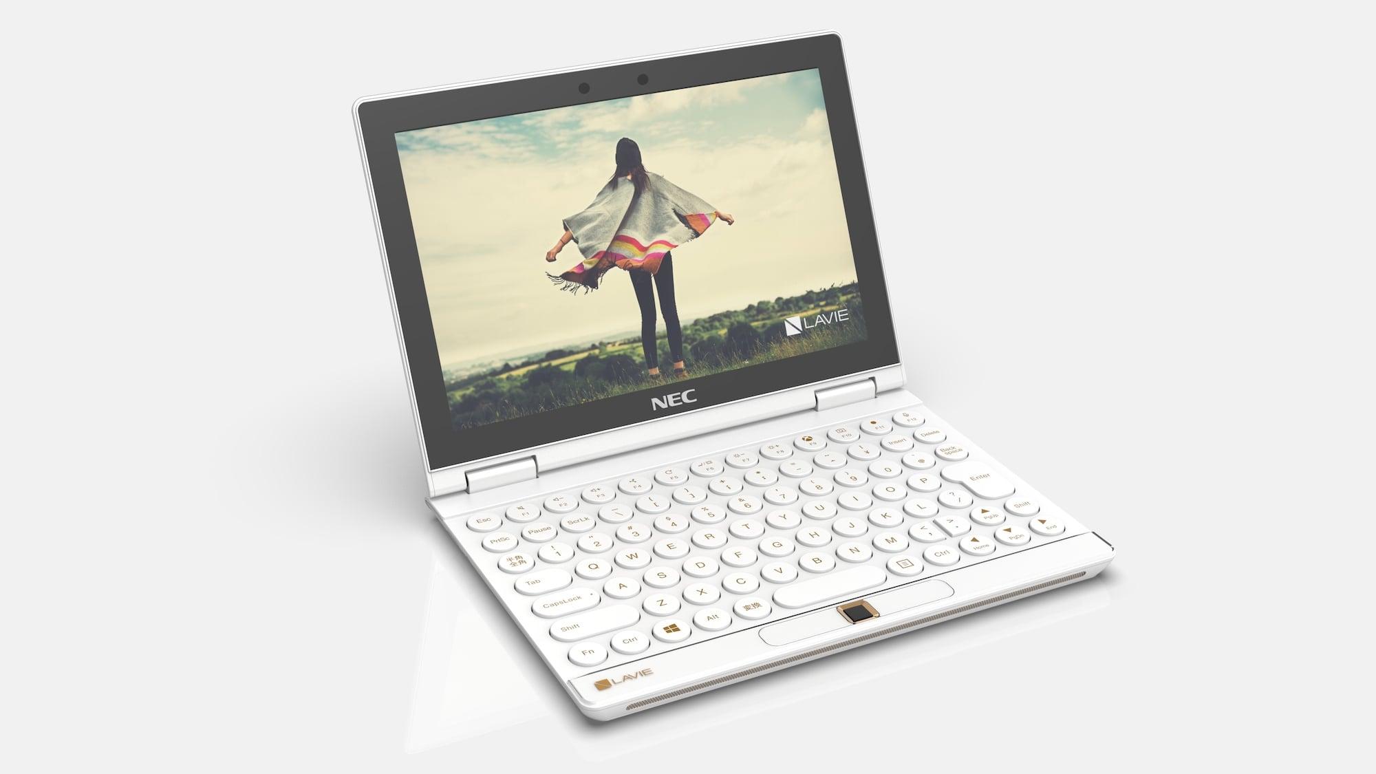 Lenovo LAVIE MINI convertible PC has an eight-inch WUXGA touch display