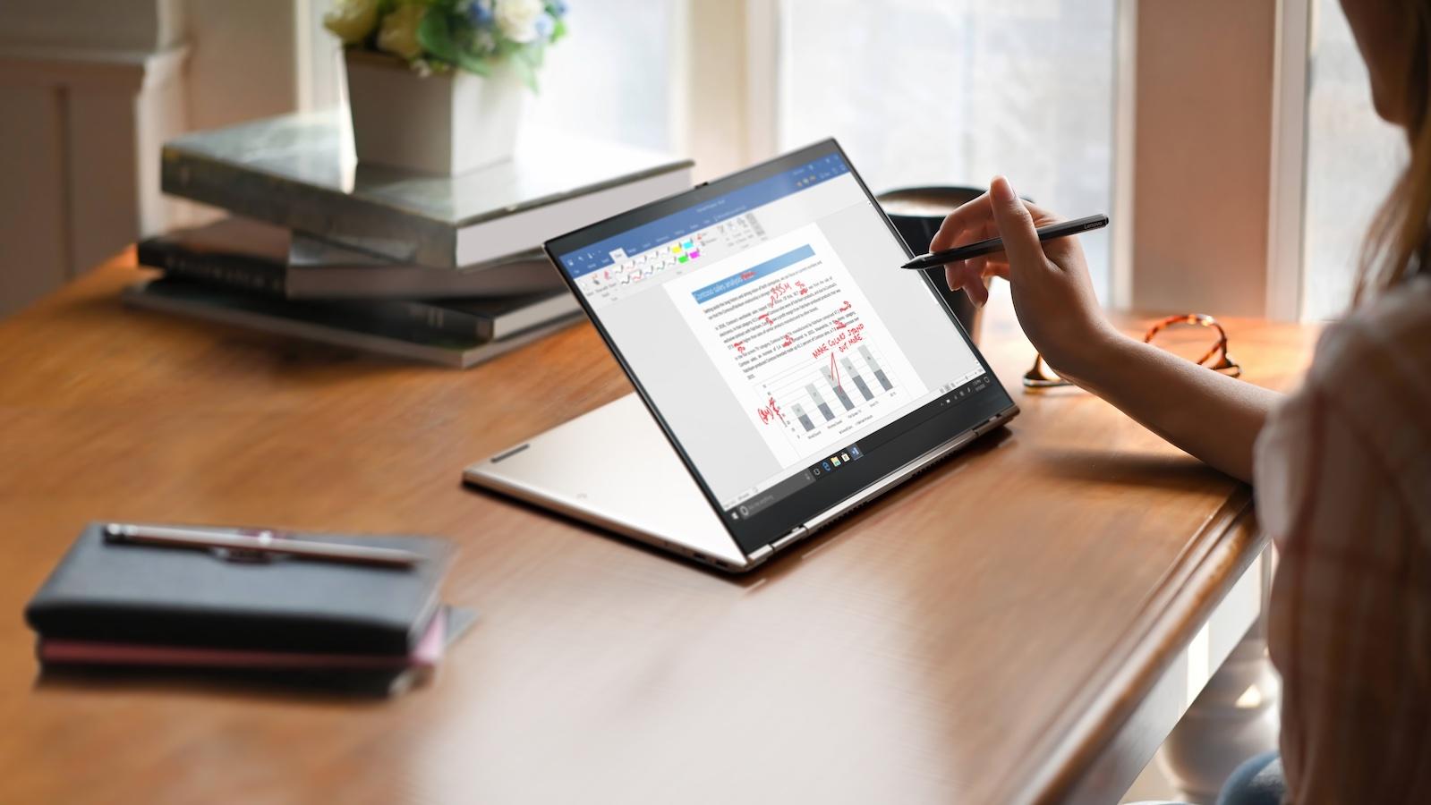 Lenovo ThinkPad X1 Titanium Yoga convertible laptop is the thinnest ThinkPad ever made
