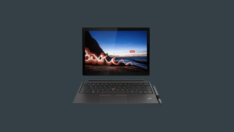 Lenovo ThinkPad X12 Detachable laptop has a screen you can remove to use like a tablet