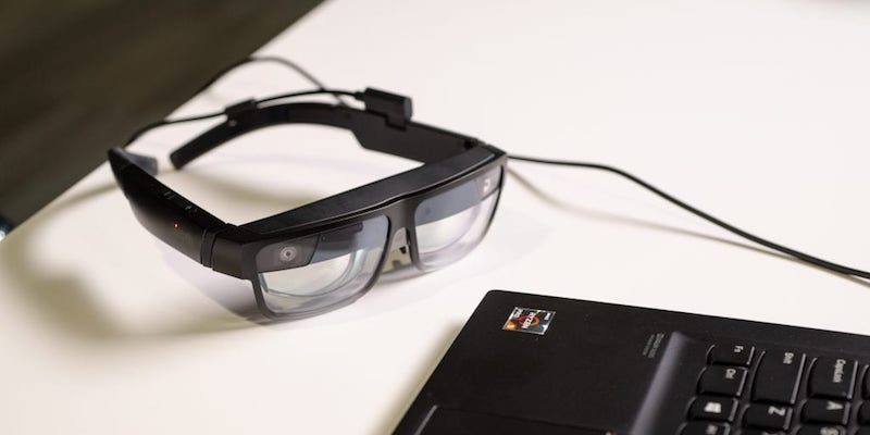Lenovo ThinkReality A3 glasses