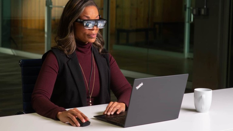 Lenovo ThinkReality A3 smart glasses are built for smart collaboration