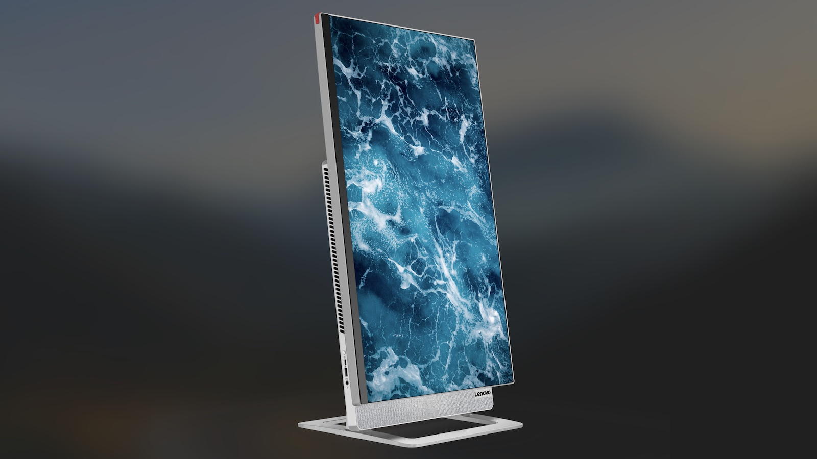 Lenovo Yoga AIO 7 all-in-one desktop PC has a rotating display that takes up minimal space